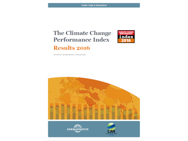 The Climate Change Performance